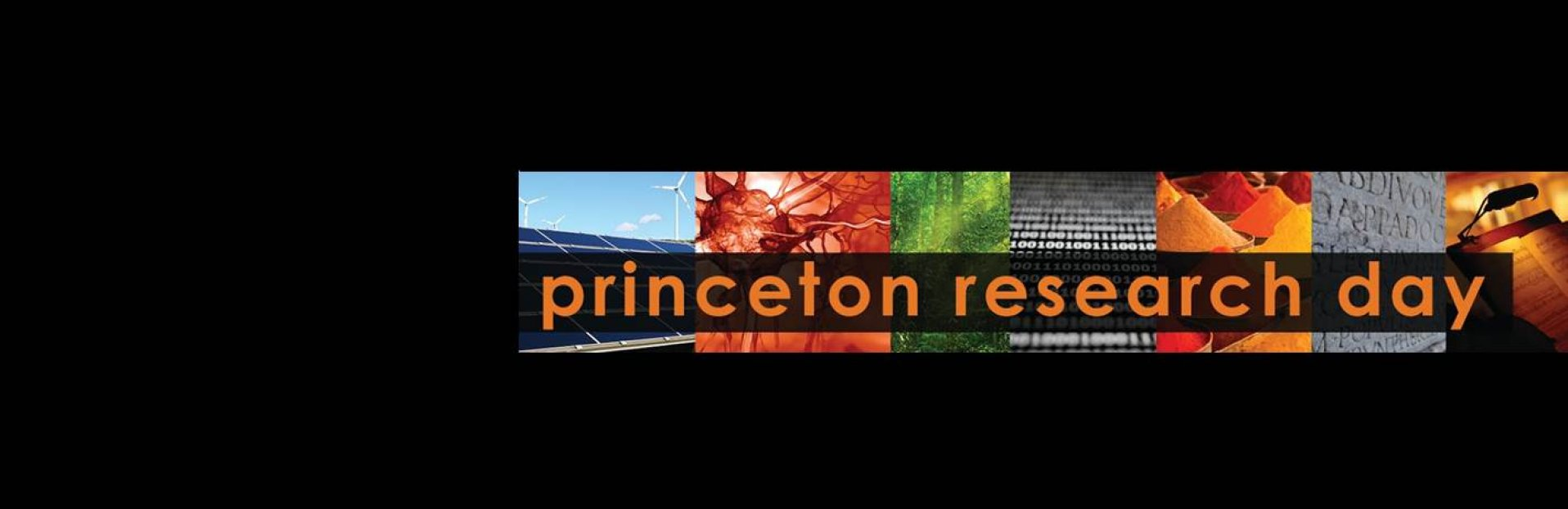 Princeton Research Day banner